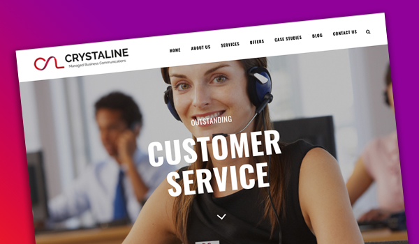 crystaline-website
